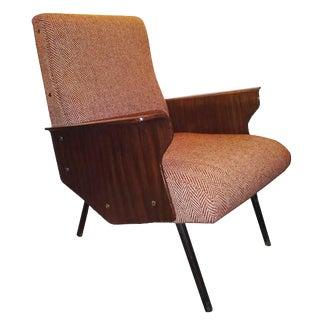 Osvaldo Borsani, Rare Single Mid-Century Club Chair, Model D72, Italy circa 1955