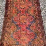 Image of 1142 Baluchi Persian Rug - 2′6″ × 4′3″