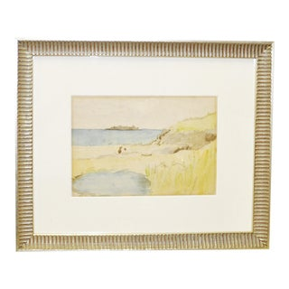 Vintage Water & Landscape Watercolor
