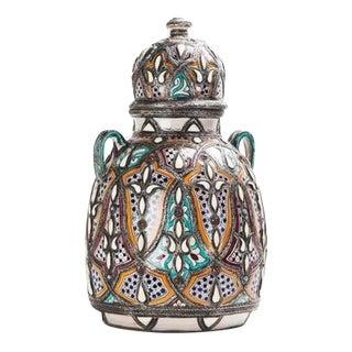 Royal Style Lidded Vase