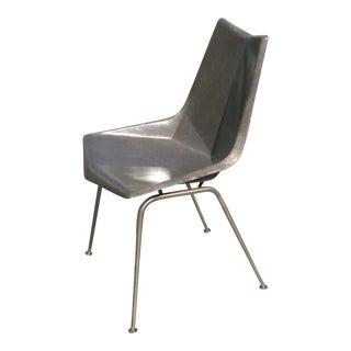 Vintage Paul McCobb Grey Origami Shell Chair