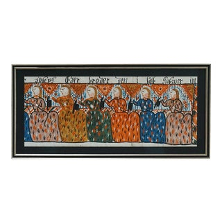 Bonad Fragment with Six Figures (#31-06c)