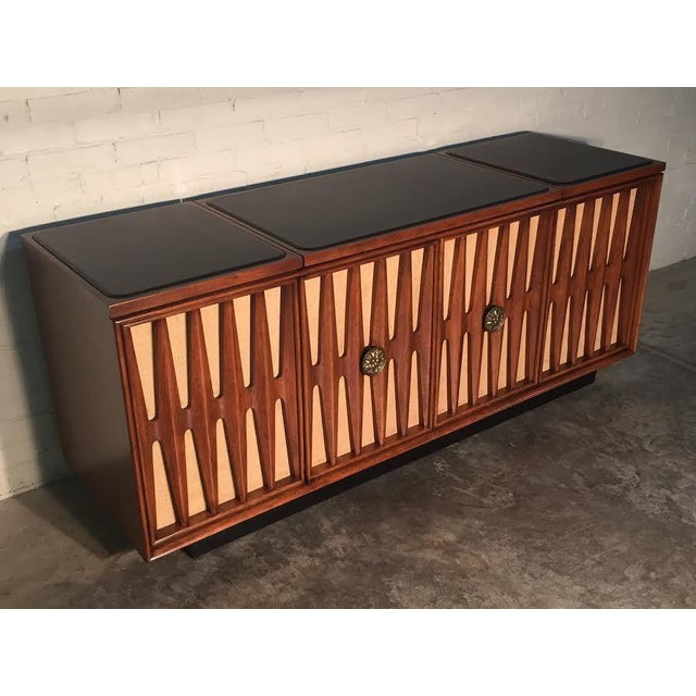 Mid-Century Modern Stereo Console/Credenza - Image 10 of 11