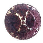 Image of Mexican Pottery Plate Purple