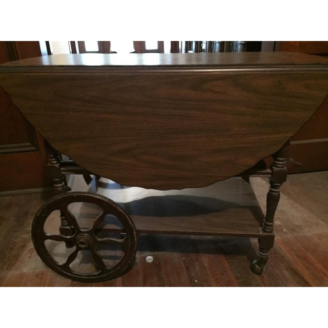 Traditional Serving Cart Table - Image 5 of 9