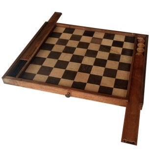 Vintage Checkers Set