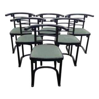 Fledermaus Chairs by Josef Hoffmann and Gustav Siegel