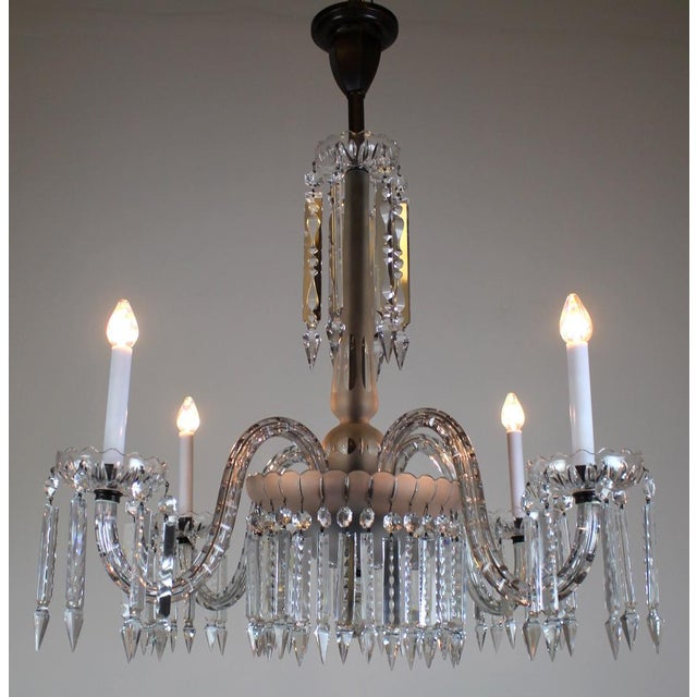 Luxury 4 arm victorian crystal chandelier decaso 4 arm victorian crystal chandelier image 4 of 11 aloadofball Choice Image
