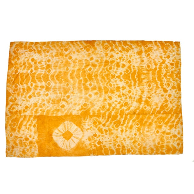 Reversible Hand-Stitched Indian Kantha Throw Blanket - Image 2 of 2