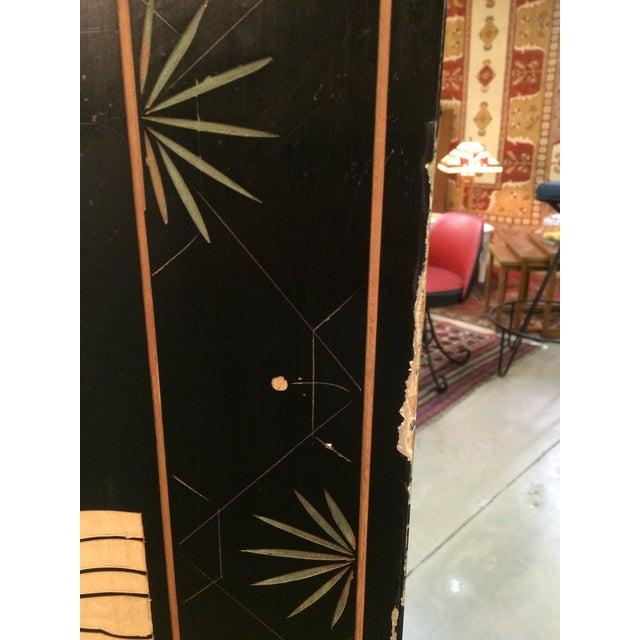6 Panel Coromandel Folding Asian Screen - Image 7 of 8