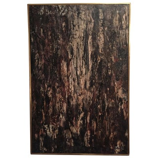 Original Abstract Oil Painting-Signed-1970's
