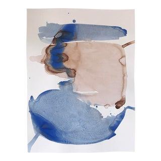 "Kate Roebuck ""Fjord"" Watercolor Painting"