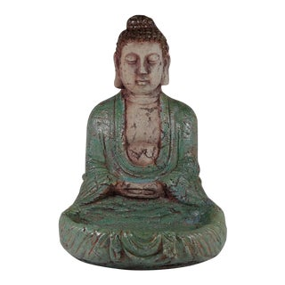 Tibetan Turquoise Samadhi Mudra Buddha Statue