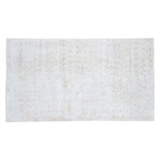 Distressed Oushak Rug - 3'7 X 6'4""