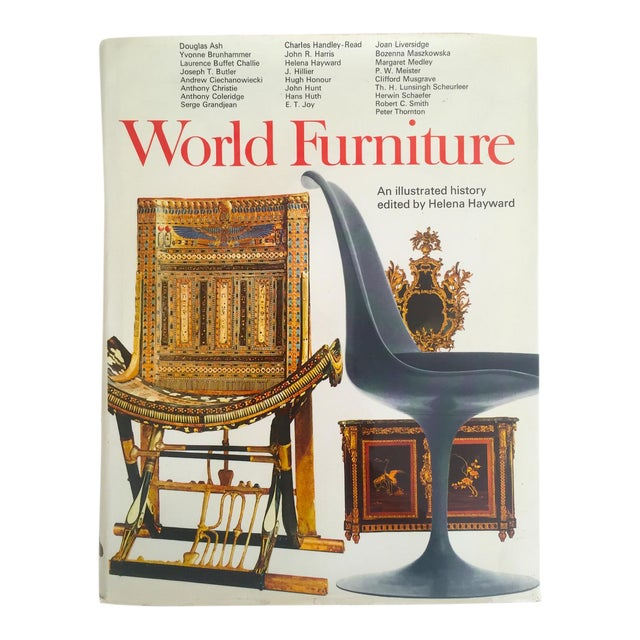 World Furniture Vintage 1970 1st Edtn Interior Design