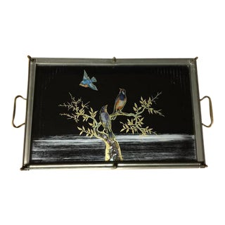 Birds on Branch Tray