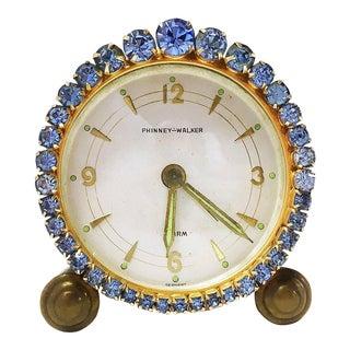 1930s Vintage Phinney-Walker Alarm Clock