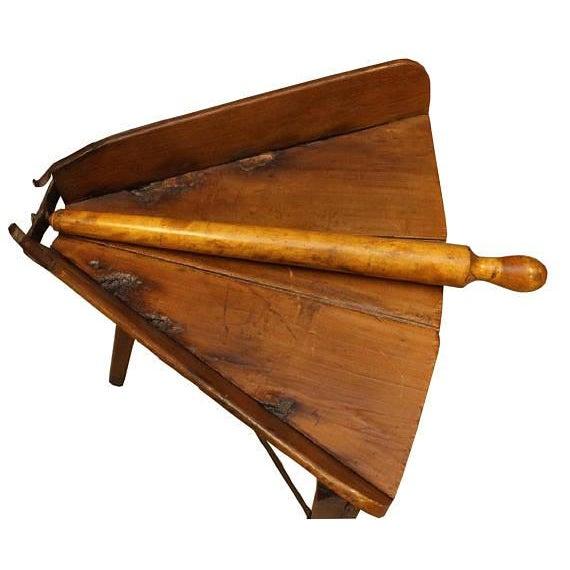 Antique Primitive Dough Rolling Table - Image 3 of 5