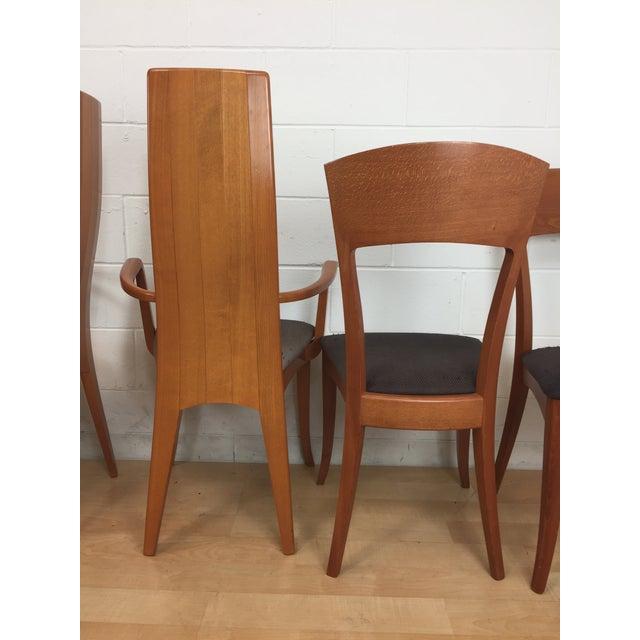 A. Sibau Italian Mid-Century Modern Dining Chairs- Set of 6 - Image 4 of 11