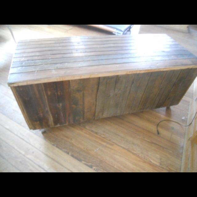 Image of Industrial Reclaimed Gym Locker Bench Steampunk