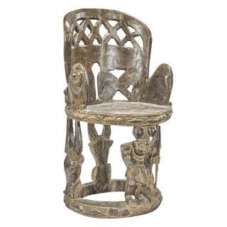 Impressive Yoruba Carved Chair