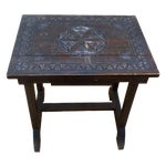 Image of Swedish Folk Art Accent Table