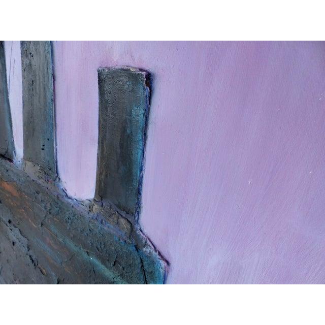 Robert Blanchard Mid-century Mixed Media Painting - Image 5 of 9