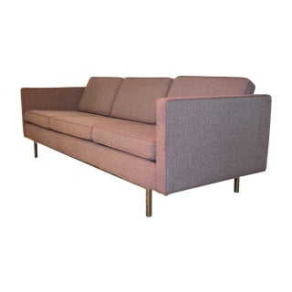 Milo Baughman for Thayer Coggin Sofa Chrome Base