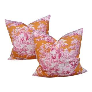 Manuel Cordova Raj Pillows - A Pair