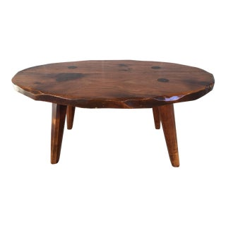 Hunt Country Furniture Rough Cut Coffee Table