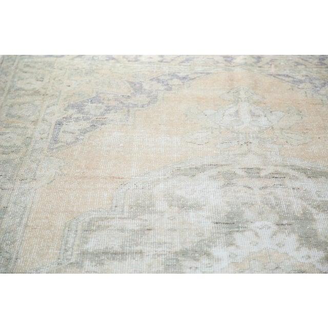"Image of Peach Distressed Oushak Carpet - 5'9"" x 9'6"""