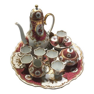Kpm China Tea Set - Set of 6