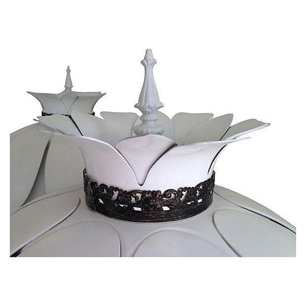 Mid-Century Artichoke Lamps - A Pair - Image 4 of 7
