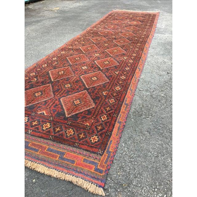 Image of Semi-Antique Baluch Persian Runner - 2′4″ × 8′5″