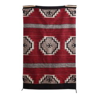 """Vintage Native American Rug - 3'7"""" x 6'"""