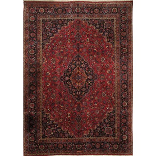 Pasargad N Y Persian Mashad 11′3″ × 16′1″ Hand Knotted Rug