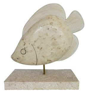 Maitland Smith Tessellated Stone Fish