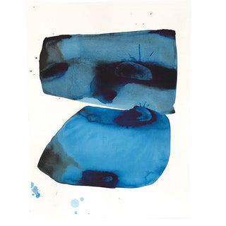 "Kate Roebuck ""Oceanic"" Watercolor Painting"