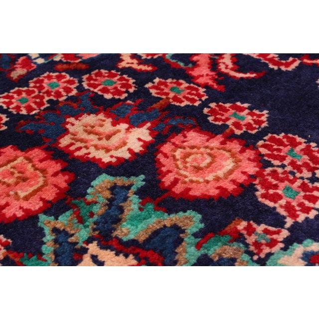 Hamadan Vintage Persian Rug - 6′8″ × 12′2″ - Image 2 of 2