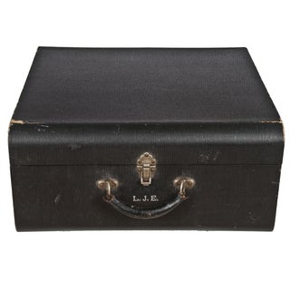 Vintage Wheary Aviatrix Travel Suitcase