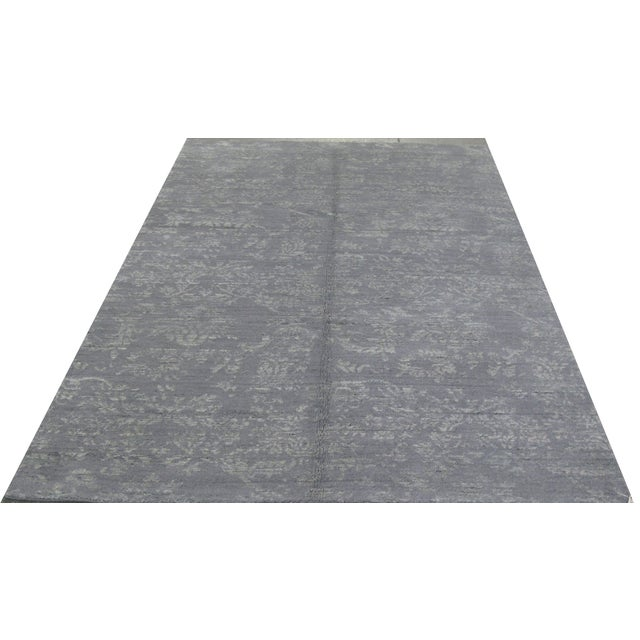 """Indian Gray Modern Rug - 5'2"""" X 7'7"""" - Image 1 of 3"""