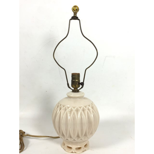 Alladin Alacite Illuminated Ivory Lamp - Image 3 of 6
