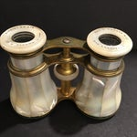 Image of Vintage Mother of Pearl Telescope With Case