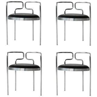 Four Henning Larsen Cafe Chairs for Fritz Hansen