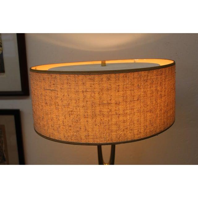 Mid-Century Modern Laurel Wishbone Lamp - Image 6 of 9