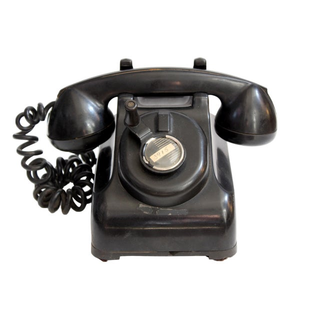 Vintage Rotary Dial Telephone - Image 1 of 4