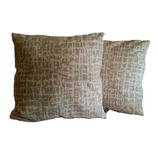 Pollack Wool Birch Bark Pillow Covers - A Pair