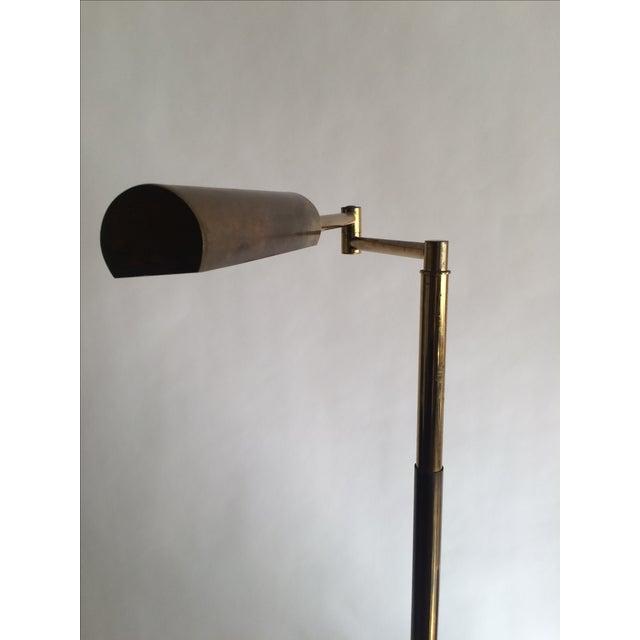 Koch + Lowy Brass Floor Lamp - Image 3 of 9