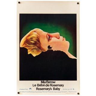 "Vintage Belgian ""Rosemary's Baby"" Poster"