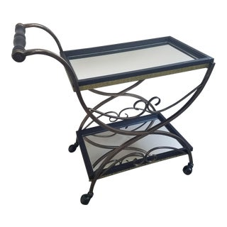 Vintage Upcycled French Bar Cart